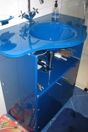 glaswaschtische glas utsch. Black Bedroom Furniture Sets. Home Design Ideas